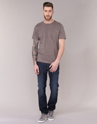 Clothing Men slim jeans Lee RIDER Blue / Raw