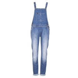 Clothing Women Jumpsuits / Dungarees Lee RELAXED BIB Blue / Clear
