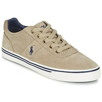 Shoes Men Low top trainers Ralph Lauren HANFORD Taupe