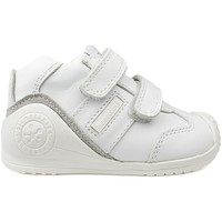 Shoes Children Hi top trainers Biomecanics E-SAUVAGE WHITE