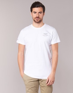 Clothing Men short-sleeved t-shirts Hackett VEZINO White