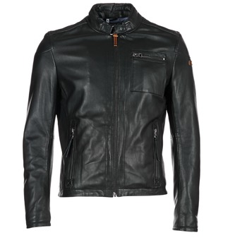 Clothing Men Leather jackets / Imitation leather Redskins SADLER Black