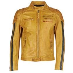Clothing Men Leather jackets / Imitation leather Redskins RIVAS Yellow