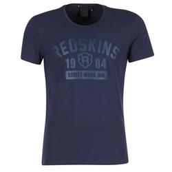 Clothing Men short-sleeved t-shirts Redskins BALLTRAP 2 MARINE