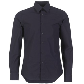 Clothing Men long-sleeved shirts G-Star Raw CORE SHIRT MARINE