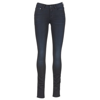 Clothing Women Skinny jeans G-Star Raw 3301 HIGH SKINNY Blue