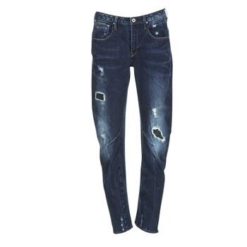 Clothing Women Boyfriend jeans G-Star Raw ARC 3D LOW BOYFRIEND Blue / Raw