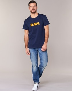 Clothing Men short-sleeved t-shirts G-Star Raw RAW DOT MARINE