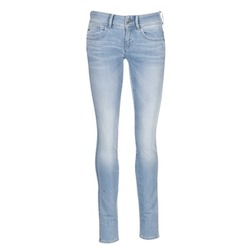 Clothing Women Skinny jeans G-Star Raw LYNN MID SKINNY Blue / Clear