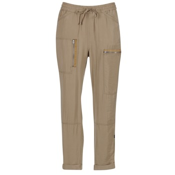 Clothing Women Wide leg / Harem trousers G-Star Raw POWEL UTILITY 3D SPORT Beige