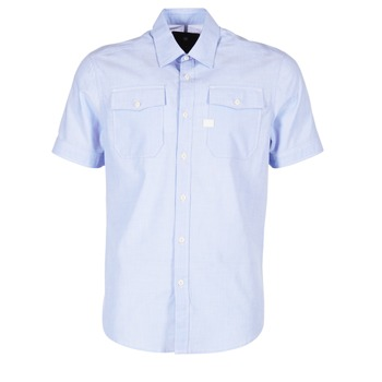 Clothing Men short-sleeved shirts G-Star Raw LANDOH Blue