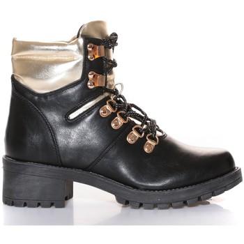 Shoes Women Mid boots Cassis Côte d'Azur Cassis Côte d' azur Bottine Daphne Noir Black