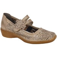 Flat shoes Rieker Date Flower Trim Mary Jane Shoes