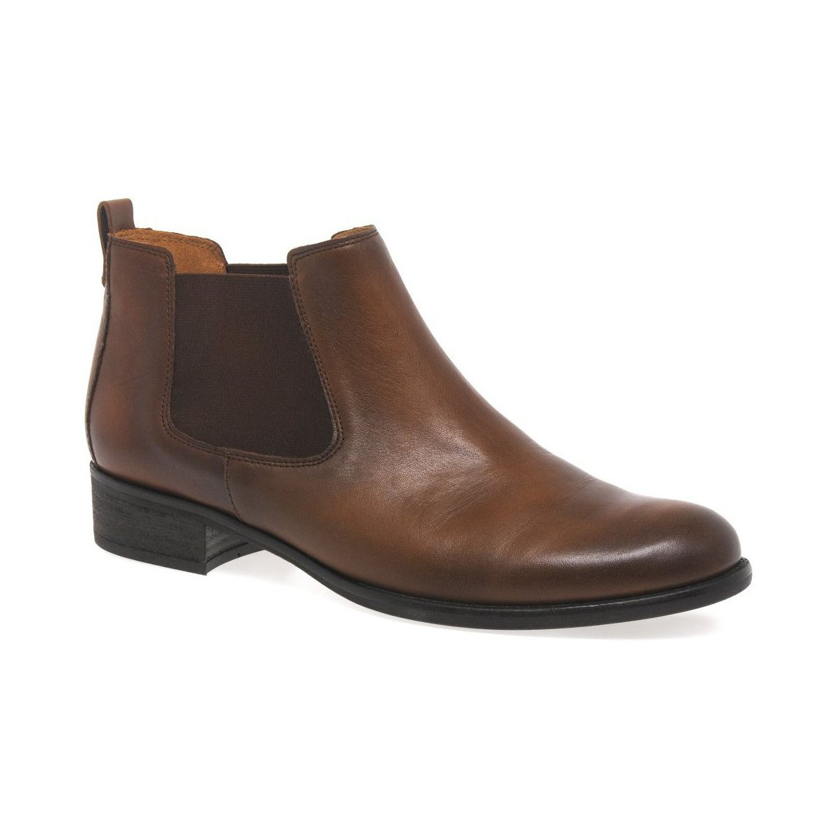 gabor zodiac womens chelsea boots brown shoes mid boots women. Black Bedroom Furniture Sets. Home Design Ideas