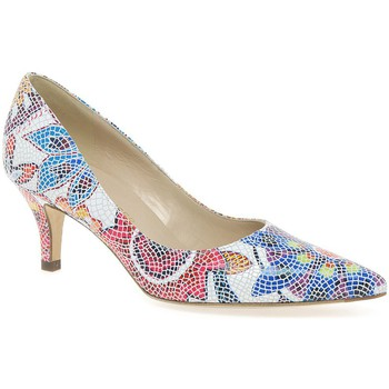 Heels Peter Kaiser Soffi Womens Mosaic Floral Court Shoes