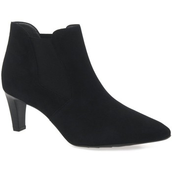 Ankle boots Peter Kaiser Magda Womens Black Suede Ankle Boots