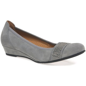 Flat shoes Gabor Aylesford Womens Wide Fit Wedge Pumps