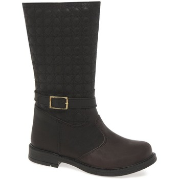 High boots Kids At Clinks Embossed Girls Junior Boots