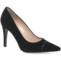Heels Peter Kaiser Dora Womens Suede Court Shoes