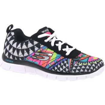 Low top trainers Skechers Sketch Abstract Girls Sports Trainers