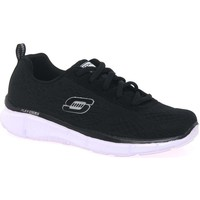 Low top trainers Skechers Quick Reaction Lace Black Trainers
