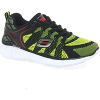 Low top trainers Skechers Quick Track Knit Lace Senior Boys Trainers