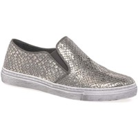 Shoes Women Slip ons Gabor Identity Womens Casual Shoes Silver