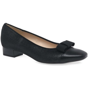 Flat shoes Peter Kaiser Nancy Womens Black Low Heel Pumps