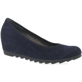 Shoes Women Flat shoes Gabor Request Womens Modern Wedge Court Shoes purple