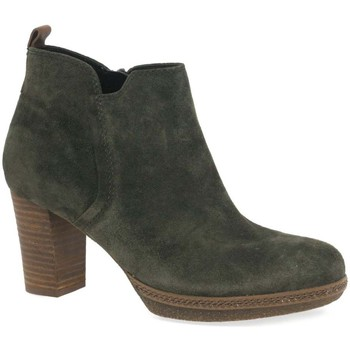 Shoes Women Ankle boots Gabor Tournament Womens Modern Ankle Boots green