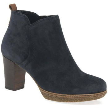 Shoes Women Ankle boots Gabor Tournament Womens Modern Ankle Boots blue