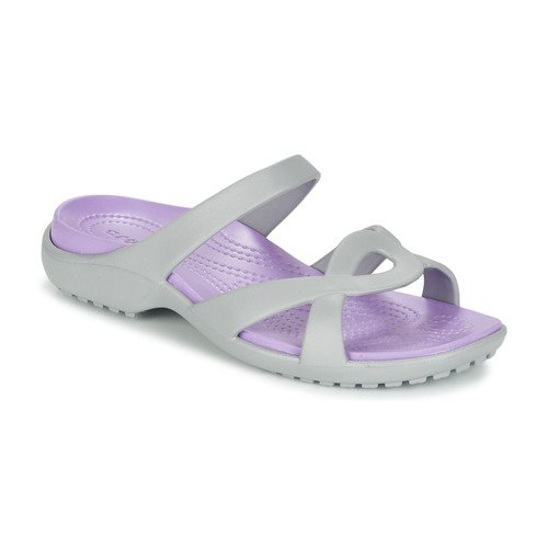 Shoes Women Sandals Crocs MELEEN TWIST Grey