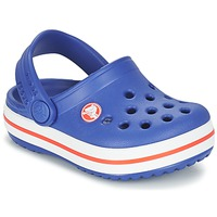 Shoes Boy Clogs Crocs Crocband Clog Kids Cerulean / BLUE