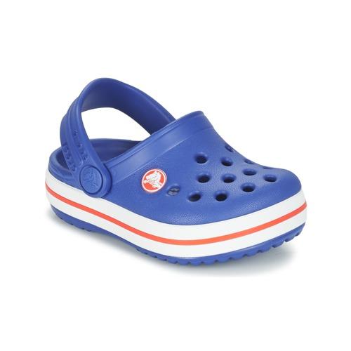 b7c41d9410794 Crocs Crocband Clog Kids Blue - Free delivery with Spartoo UK ...