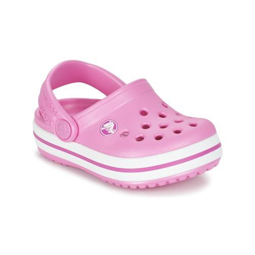 Shoes Girl Clogs Crocs Crocband Clog Kids Party / PINK