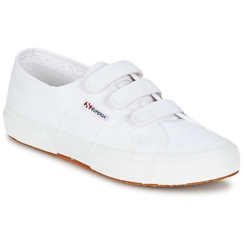 Shoes Low top trainers Superga 2750 COT3 VEL U White