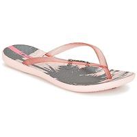 Shoes Women Flip flops Ipanema WAVE TROPICAL Pink