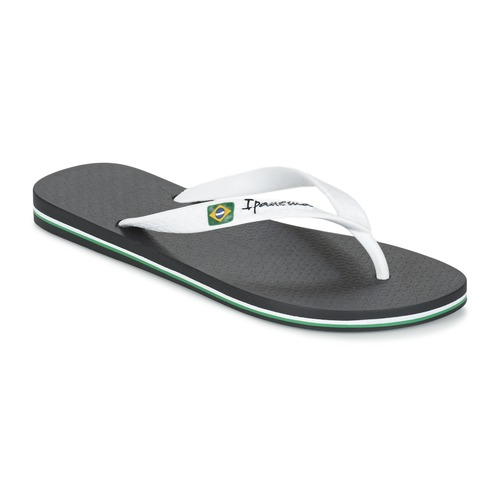 Shoes Men Flip flops Ipanema CLASSICA BRASIL II Black / White