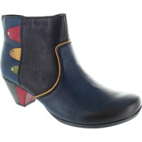 Shoes Women Ankle boots Rieker y7273-14 women's blue combination side zip up medium heel ankle Blue Combination
