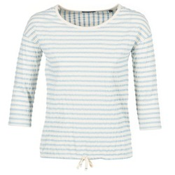 Clothing Women Tops / Blouses Marc O'Polo GRASSIRCO White / Blue