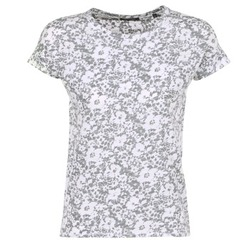 Clothing Women short-sleeved t-shirts Marc O'Polo BRIDELOPAC Black / White