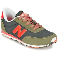 Shoes Children Low top trainers New Balance KL410 Green / Orange