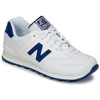 Shoes Low top trainers New Balance ML574 White