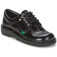 Shoes Women Brogues Kickers KICK LO Black Patent