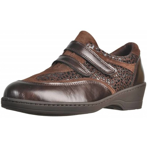 Shoes Women Loafers Pinosos 45071 Brown
