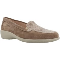 Shoes Women Loafers Stonefly PASEO Light Brown