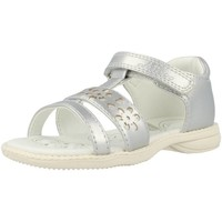 Shoes Girl Sandals Chicco CLASSY Silver