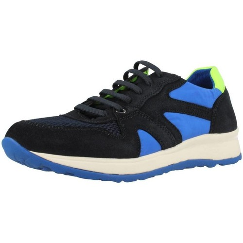 Shoes Men Low top trainers Stonefly 106835 Black