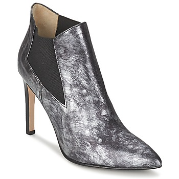 Shoes Women Shoe boots Paco Gil REGGIE Black / Silver