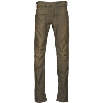 Clothing Men slim jeans Diesel THAVAR KAKI